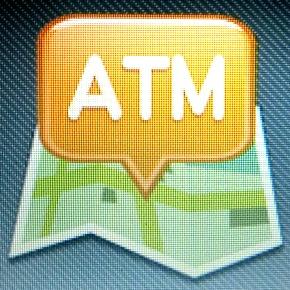 アンドロイドアプリ「銀行ATMまっぷ」で近くのATMは探せるか?