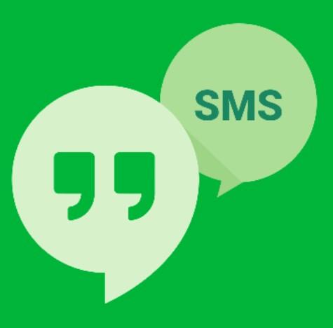 GoogleハングアウトのSMSの使い方/Android,アンドロイド,ショートメッセージ,グーグル
