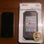【iPhone】アイフォン専用:装着するだけで充電ができるバッテリー内蔵型ケース