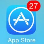 App Storeアプリの画面を更新する方法/アイフォン,iPhone,iOS8
