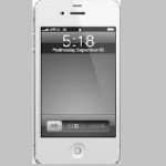 【iPhone】派手な画面を地味な灰色にする方法(アイフォン)