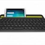 パソコン,スマホ,タブレット。1台で操作可能な「マルチデバイス キーボードK480」