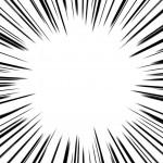 画像に漫画のような集中線を入れる,加工アプリ/iPhone,アイフォン
