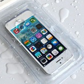 iPhoneを防水にさせる防水ケース(アイフォン)