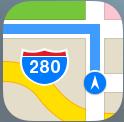 マップを3D透視図で見るには?方法/iPhone,アイフォン