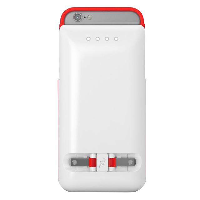 コンセントに直接差し込んで充電ができるiPhoneケース「PWR Case」