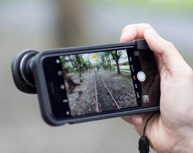 iPhoneのカメラを劇的に進化させる iPhoneケース『bitplay SNAP! 7』