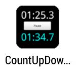 時間計測を同時に!『カウントアップダウンタイマー』