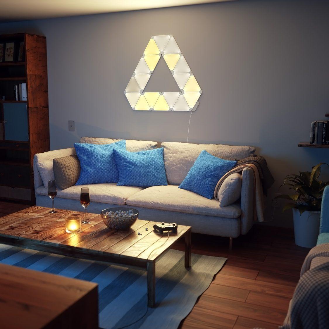 スマート家電Nanoleaf『Aurora Smarter Kit』で自在に照明をカスタマイズしよう!
