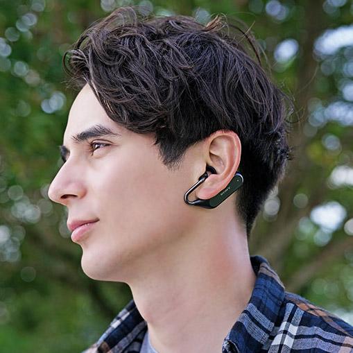 【レビュー】ソニーの耳を塞がないイヤホン「Xperia Ear Duo XEA20」
